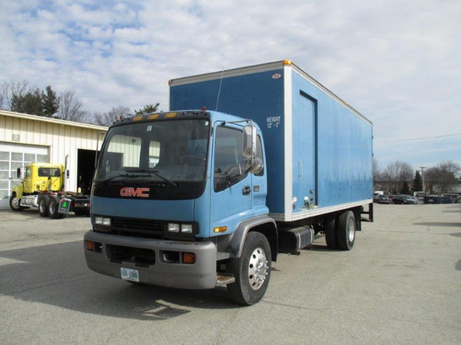 2000 Gmc T6500 Box Truck - Straight Truck