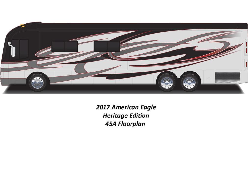 2017 American Coach American Eagle 45A