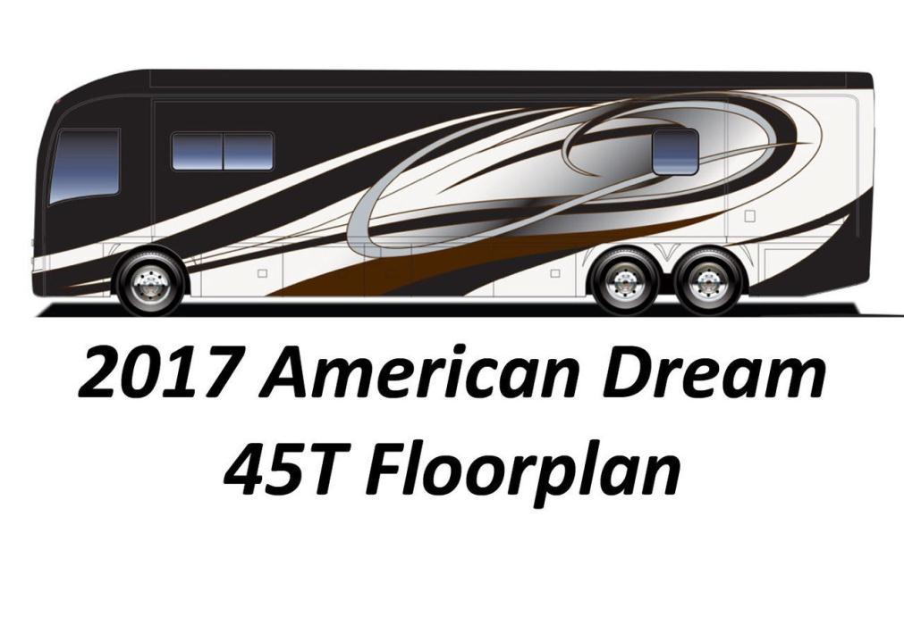 2017 American Coach AMERICAN DREAM 45T