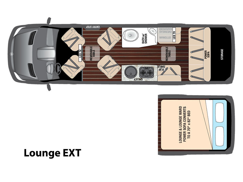 2017 Airstream Interstate Lounge EXT Base