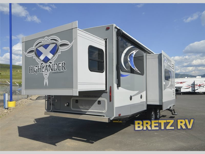2017 Open Range Rv Highlander 21FBD
