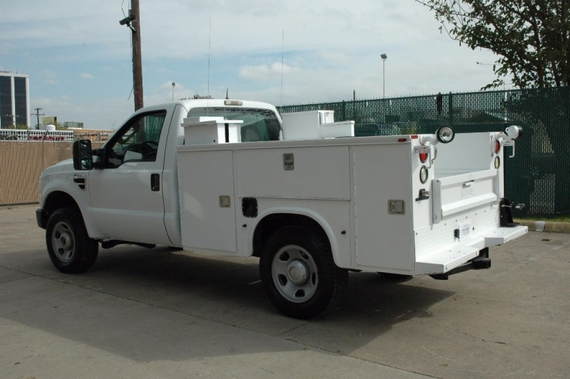 2009 Ford F250 4x4 Service Utility  Utility Truck - Service Truck