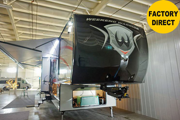 2017 Weekend Warrior 2017 - 4100W 5TH WHEEL TOY HAULER