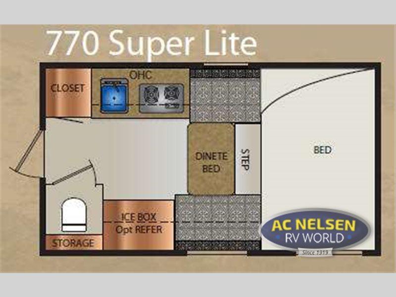 2012 Travel Lite Truck Campers 770 Super Lite Series