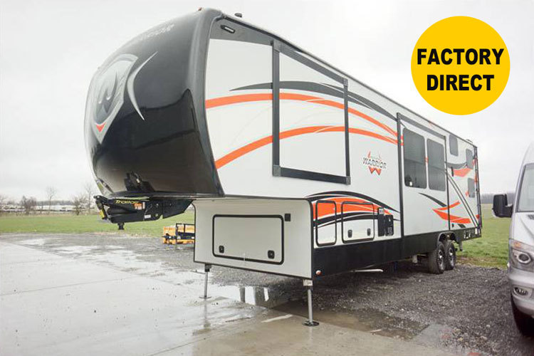 2017 Weekend Warrior 3608W 5TH WHEEL TOY HAULER