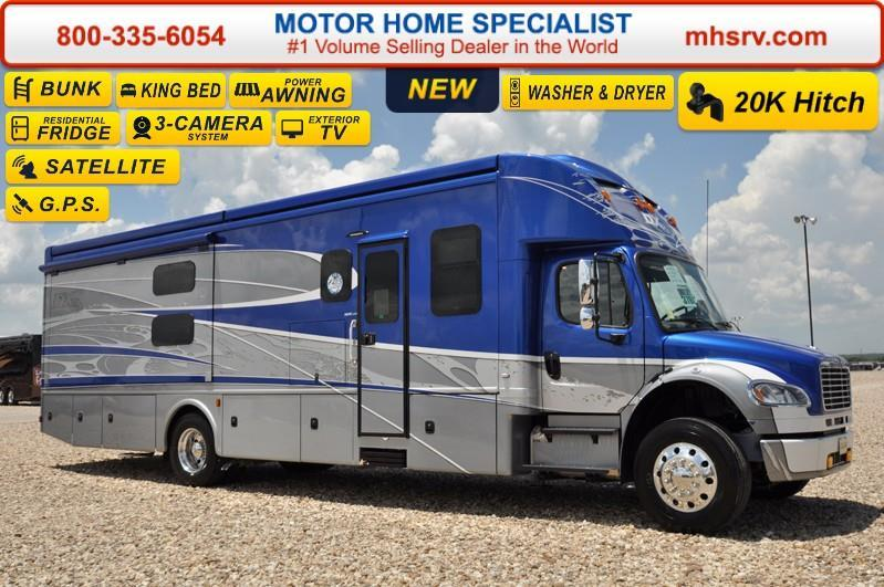 2017 Dynamax Corp DX3 37BH Super C Bunk House RV for Sale
