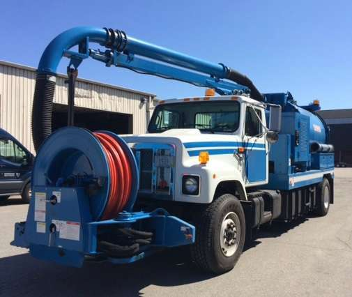 1999 Vac-Con Vaccon Combination Sewer Cleaner Tanker Trailer