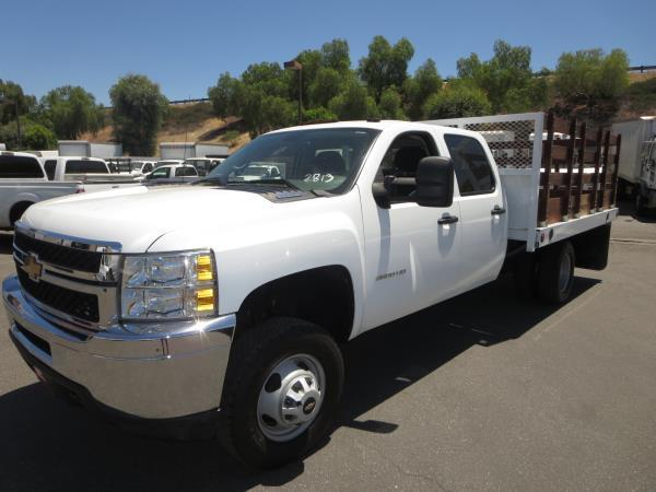 2012 Chevrolet C3500 Dsl 4x4 Landscape Truck