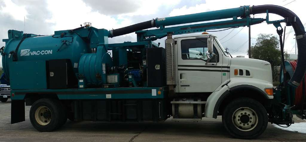 2005 Vac-Con V390lha Combination Sewer Cleaner Tanker Trailer