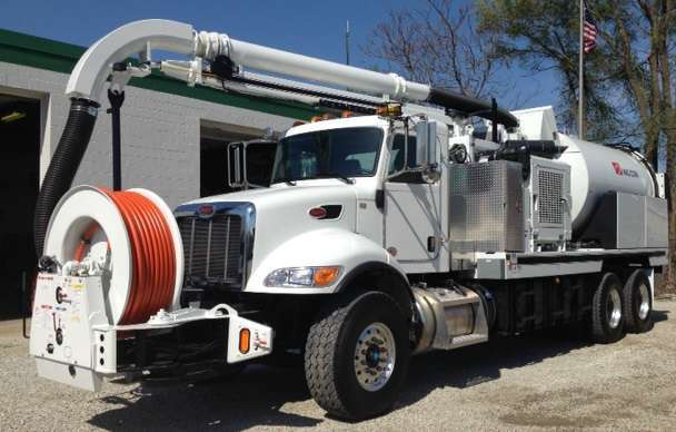2015 Vac-Con Pd4212he/1300 Combination Sewer Cleaner - Pd Tanker Trailer