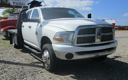 2012 Dodge Ram 3500hd  Flatbed Truck