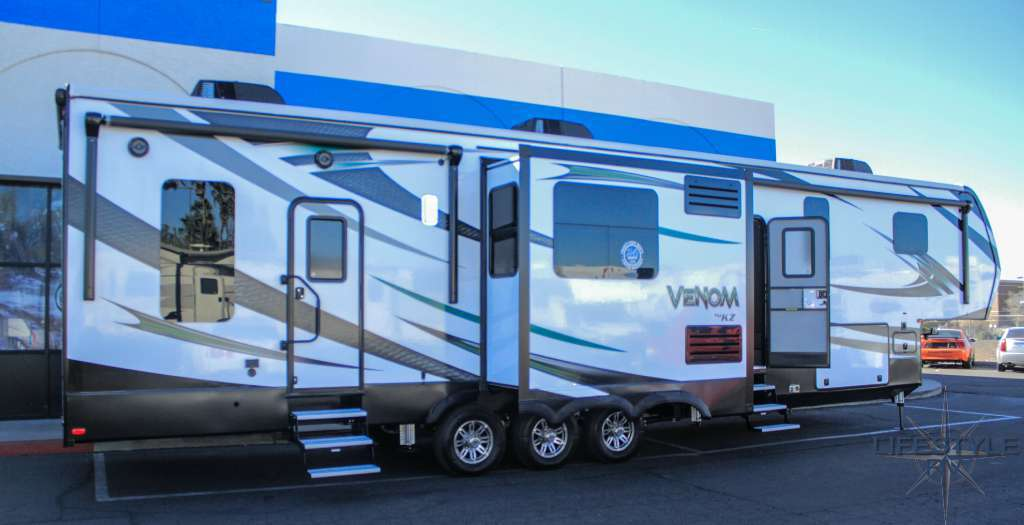 Kz Rv Venom 3911tk Rvs For Sale
