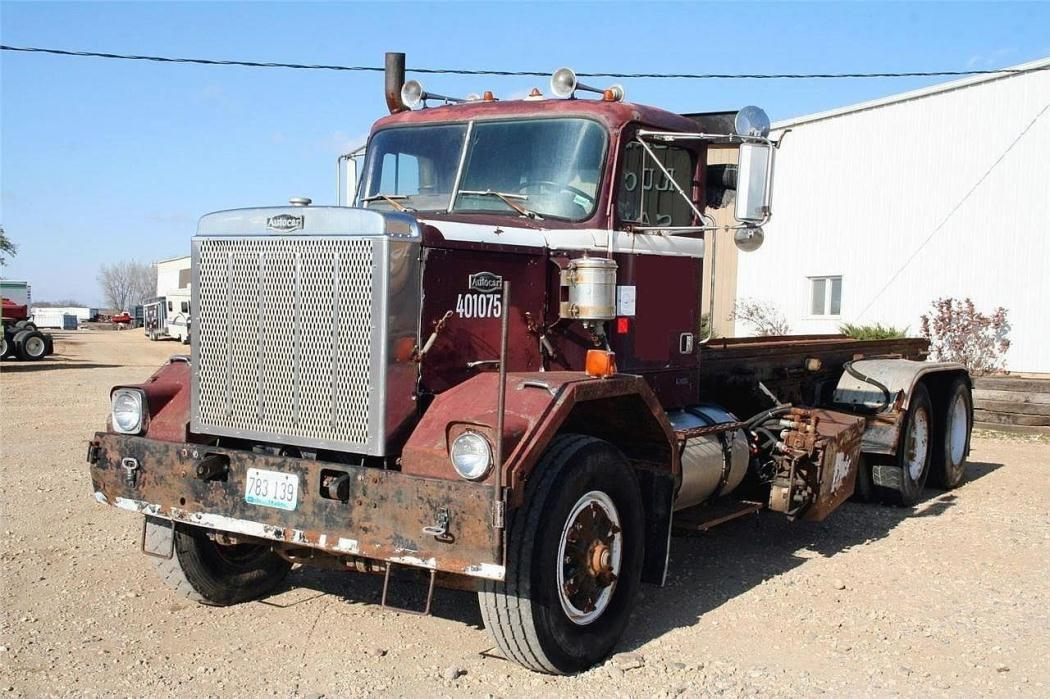1986 Autocar Acl64  Garbage Truck