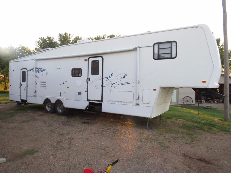 Forest river all american sport 36ckss rvs for sale for 16 ft toy hauler floor plans