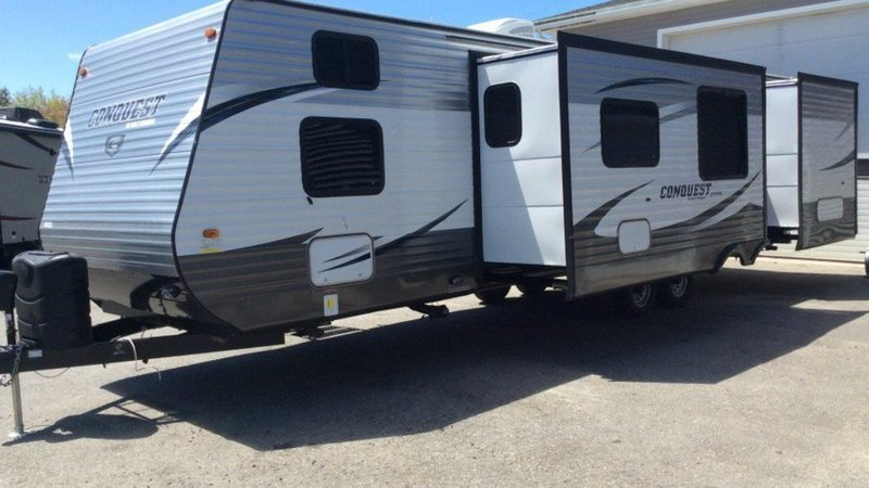 2016 Gulf Stream Conquest Travel Trailer 30FRK