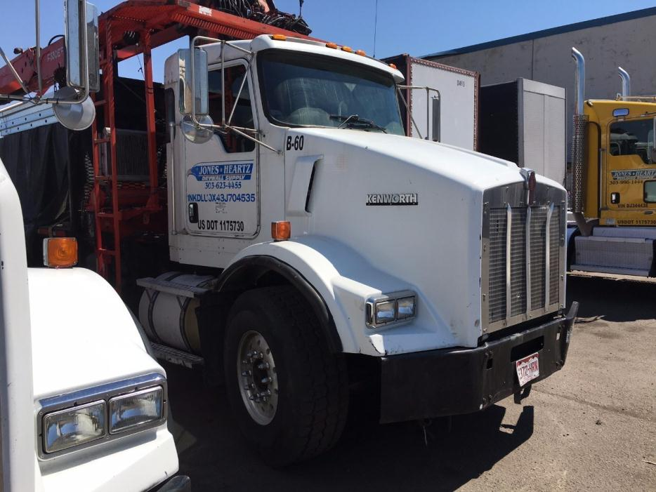 2003 Kenworth T800 Crane Truck