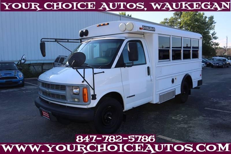 2002 Chevrolet Express  Bus