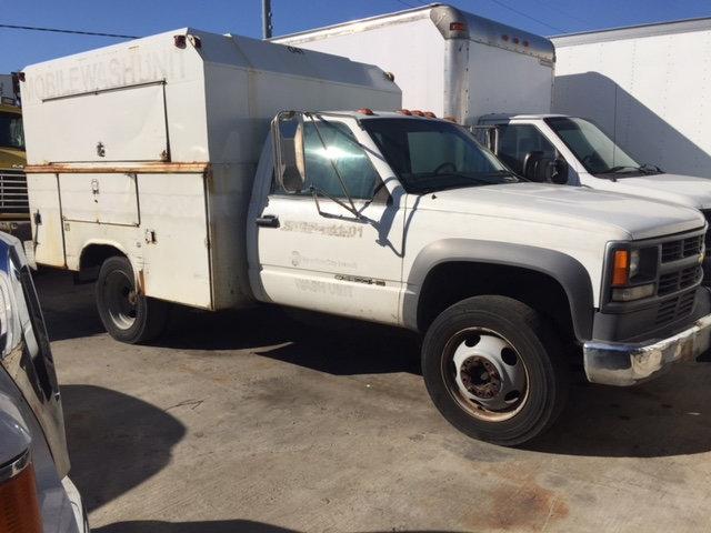 2001 Chevrolet C 3500 Hd Enclosed Utility Service Truck  Utility Truck - Service Truck