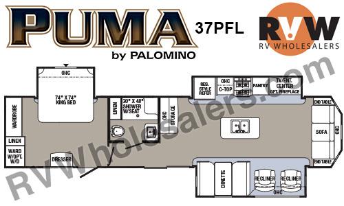 2017 Palomino Puma 37PFL