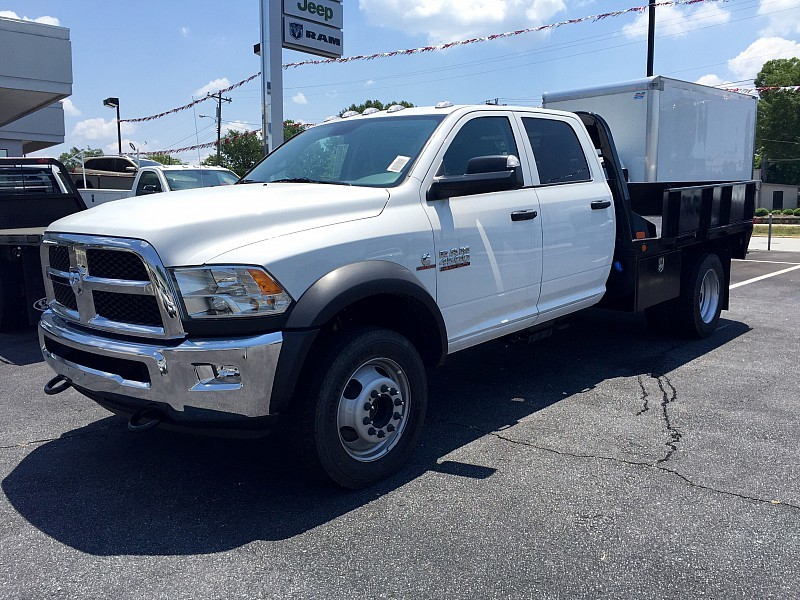 2016 Ram 4500 Hd Chassis Crew Cab Tradesman 173  Cab Chassis