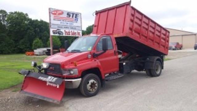 2009 Gmc Dump Truck  Dump Truck
