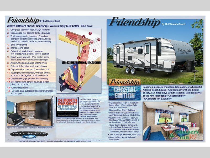 2017 Gulf Stream Rv Friendship 268BH