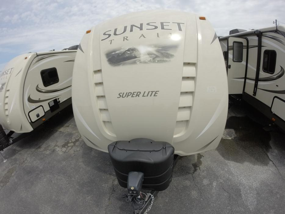 2016 Crossroads Rv Sunset Trail Super Lite ST250RB