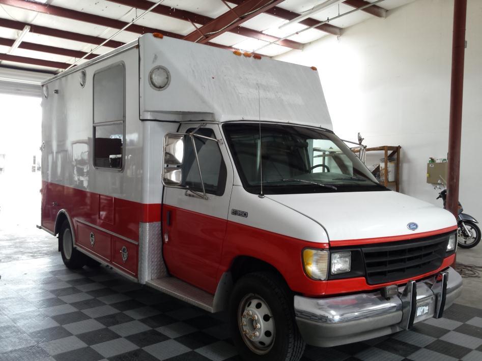 1994 Ford F350  Ambulance