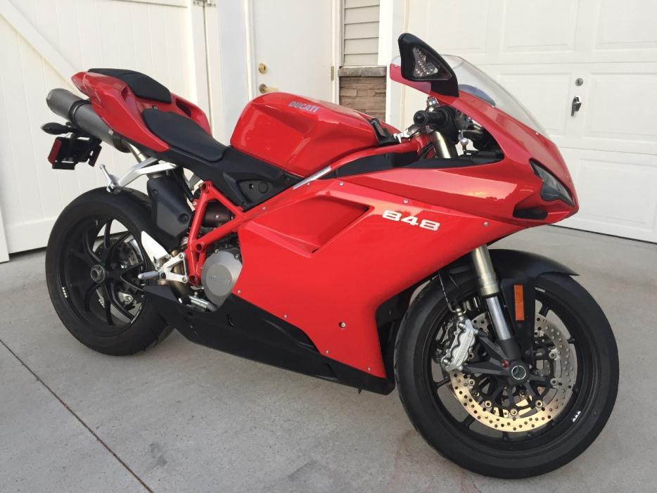 2009 Ducati Superbike 848
