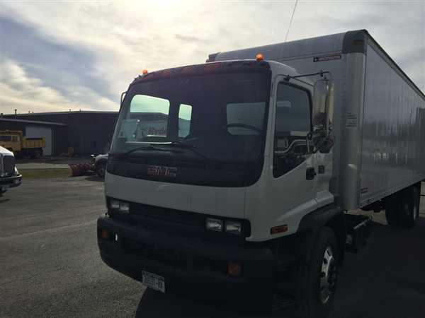 2009 Gmc F7b042 Box Truck - Straight Truck