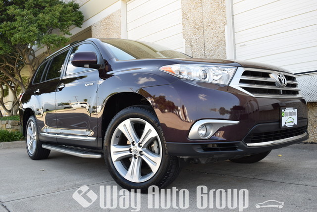 2013 Toyota Highlander Limited  Pickup Truck