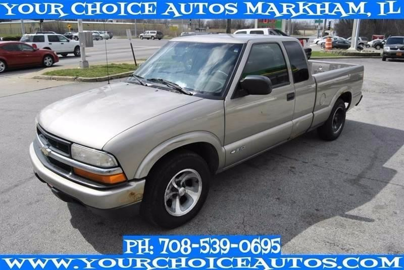 2003 Chevrolet S10 Extended Cab