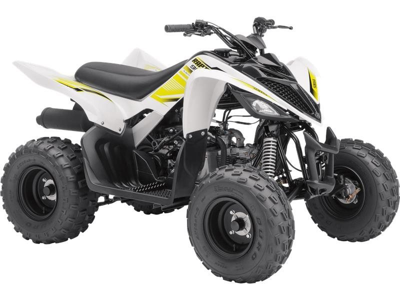 2017 Yamaha Raptor 90 White