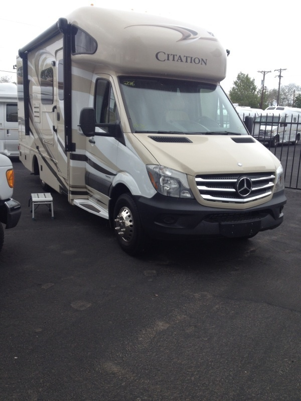 2016 Thor Motor Coach Chateau Citation Sprinter