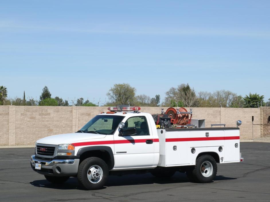 2003 Gmc 3500hd Fire Truck