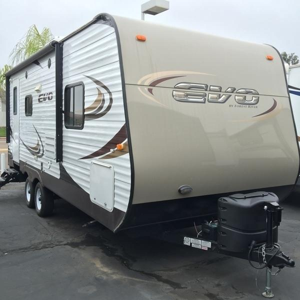 forest river evo t2160 rvs for sale in california. Black Bedroom Furniture Sets. Home Design Ideas