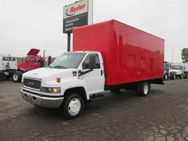 2009 Gmc C5c042 Box Truck - Straight Truck