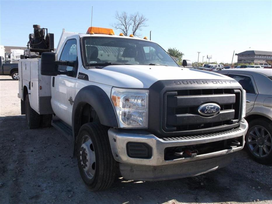 2011 Ford F450 Fuel Truck - Lube Truck
