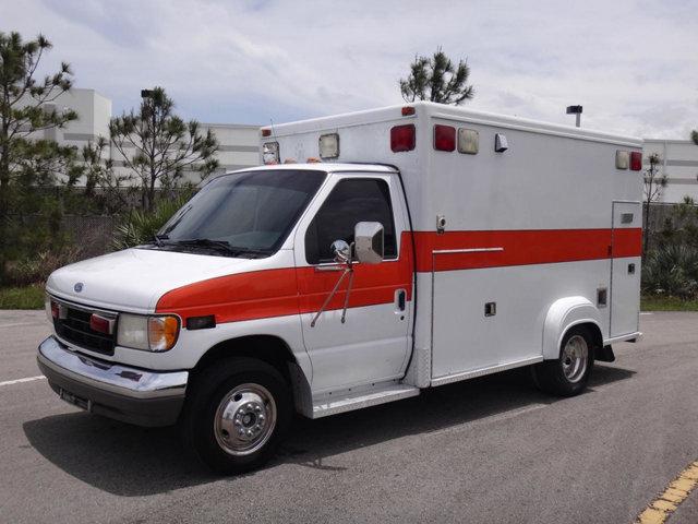 1996 Ford Econoline Rv Cutaway Ambulance
