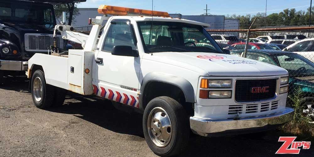 1996 Gmc Sierra 3500  Wrecker Tow Truck