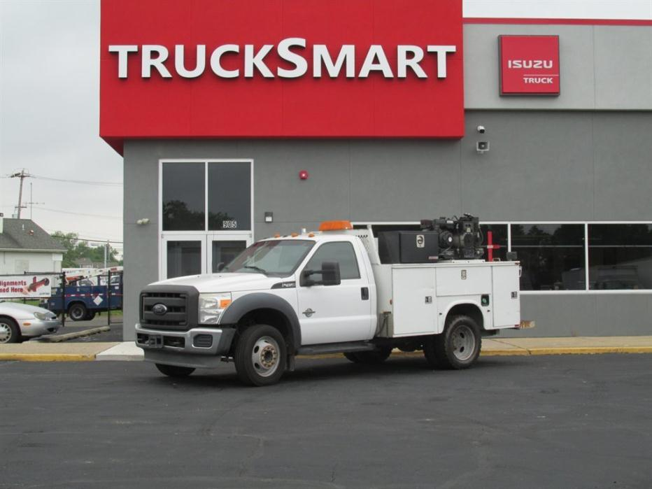 2012 Ford F450 Fuel Truck - Lube Truck