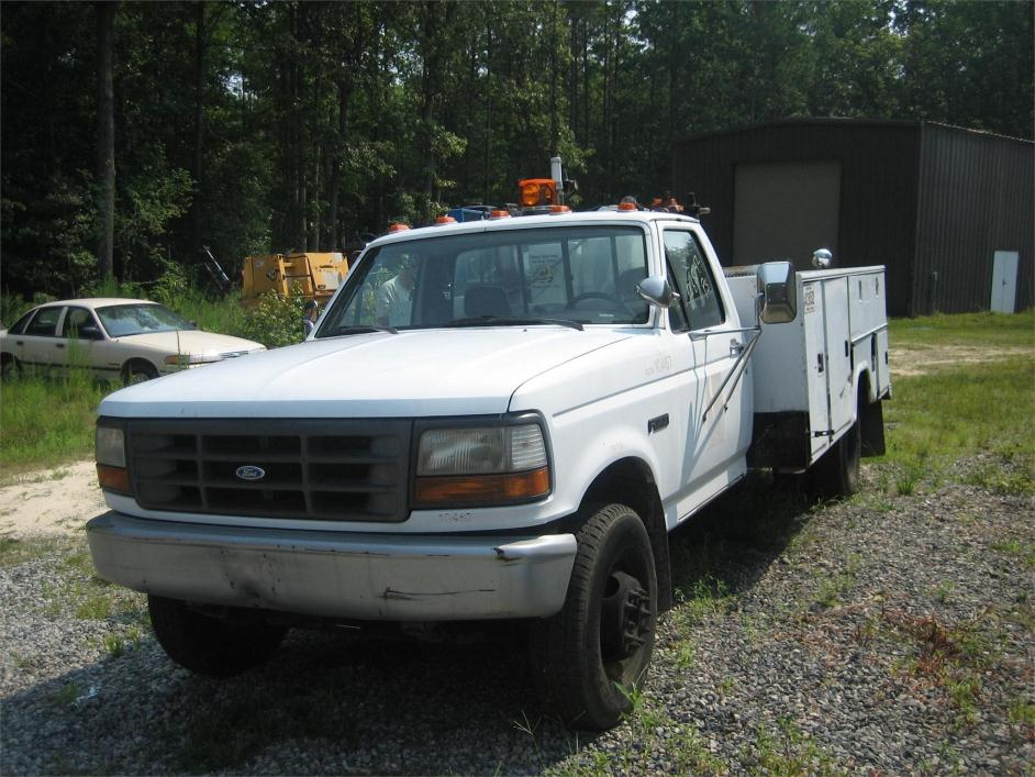 1994 Ford F250  Fuel Truck - Lube Truck