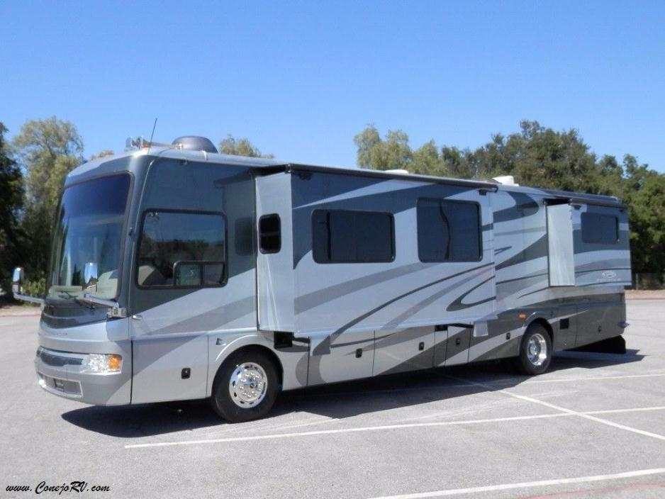 2007 National Pacifica QS40C 4-Slide 40ft Full Body Paint 39k Miles