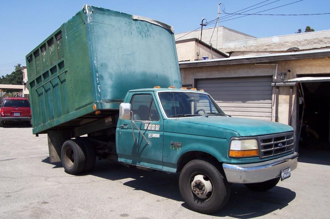 1993 Ford F350  Dump Truck