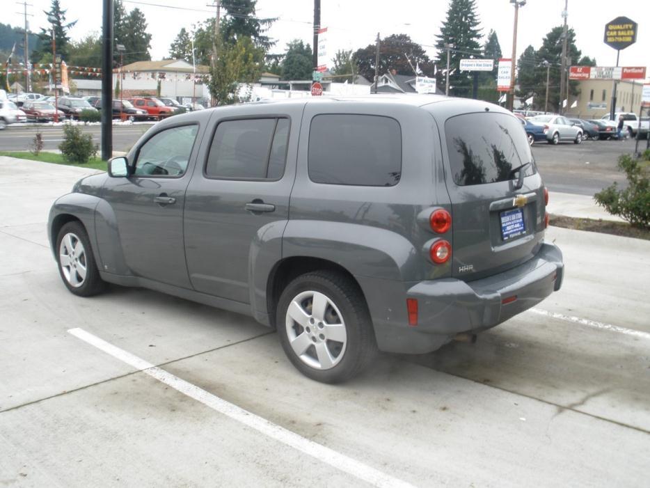 2009 Chevrolet Hhr Passenger Van