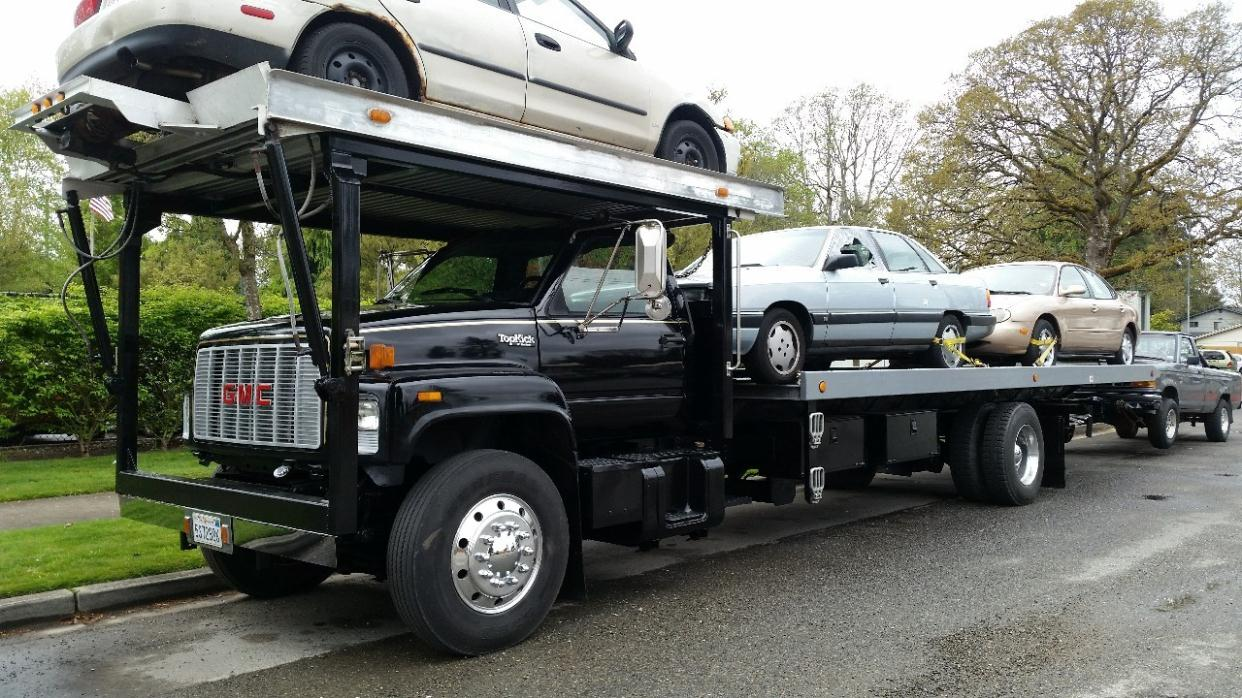 Rollback Tow Truck For Sale In Washington
