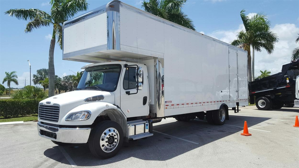 2017 Freightliner Business Class M2 106 Moving Van