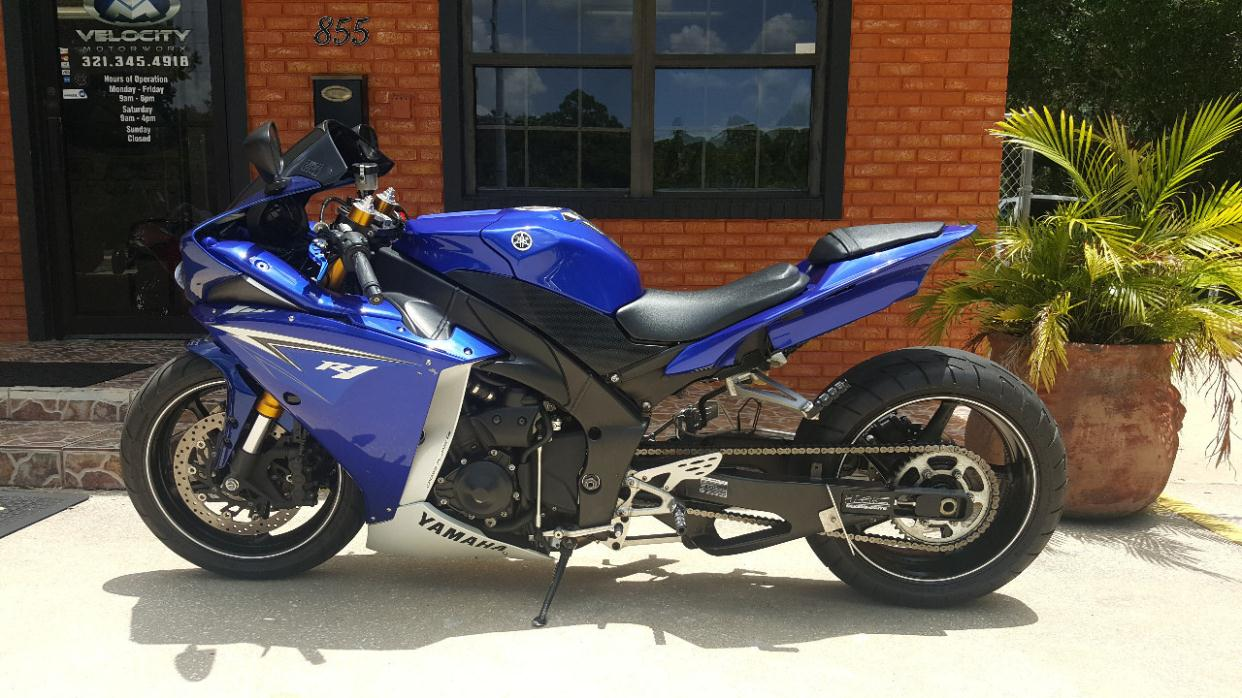 Yamaha r1 motorcycles for sale in west melbourne florida for Yamaha motorcycle for sale florida