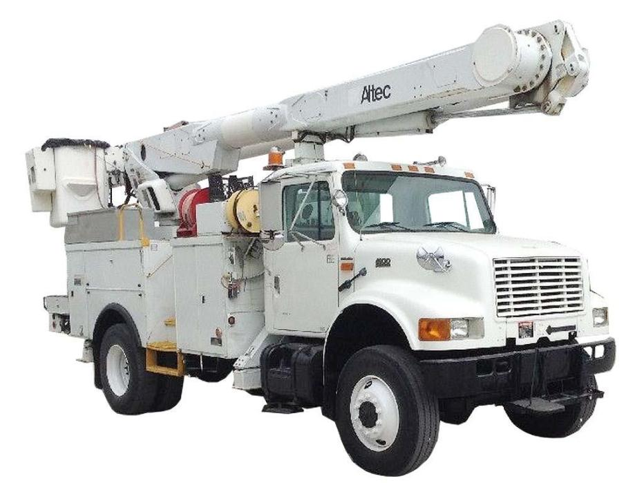 2002 International 4800 Bucket Truck - Boom Truck