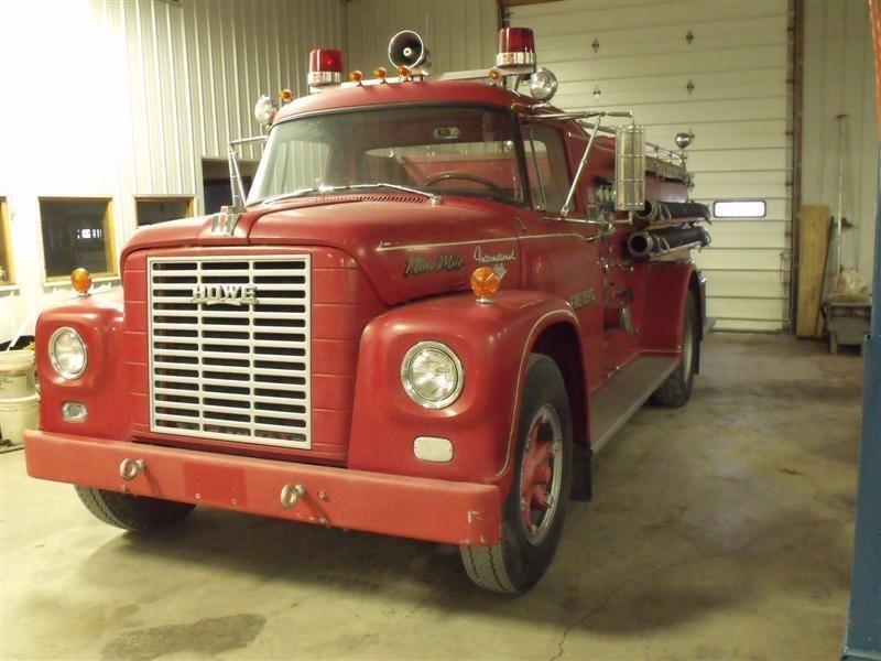 1966 International 1700  Fire Truck
